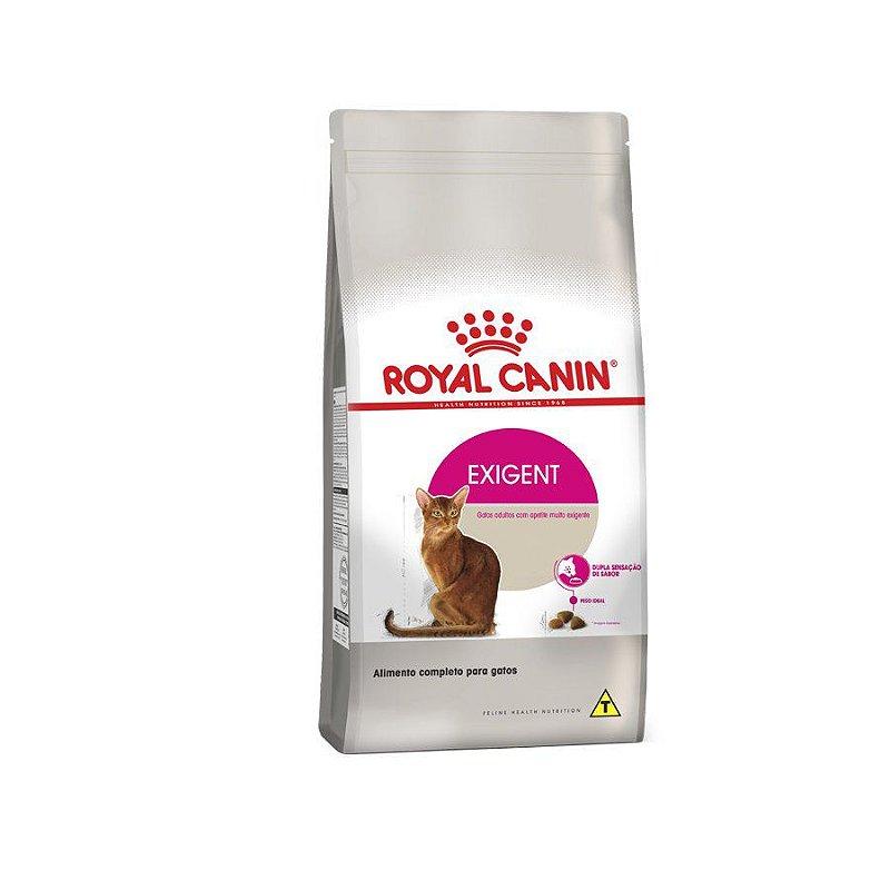 Ração Royal Canin Exigent - Gatos Adultos