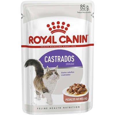 Ração Royal Canin Sachê Feline Sterilised para Gatos Castrados - 85g