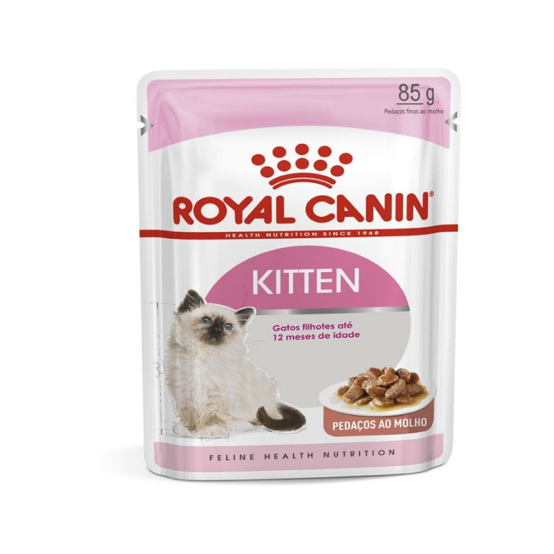 Ração Úmida Royal Canin Sachê Instinctive - Gatos Filhotes - 85g