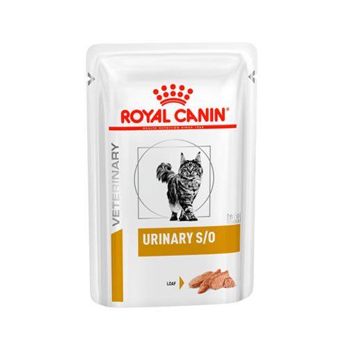 Ração Royal Canin Sachê para Gatos Veterinary Urinary S/O Feline Wet - 85g