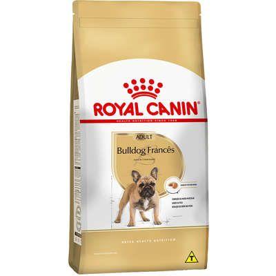 Ração Royal Canin Bulldog Francês - Cães Adultos