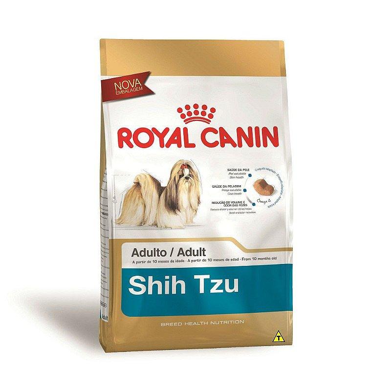 Ração Royal Canin Shih Tzu - Cães Adultos