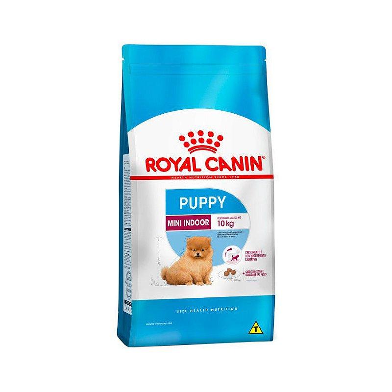Ração Royal Canin Mini Indoor - Cães Filhotes