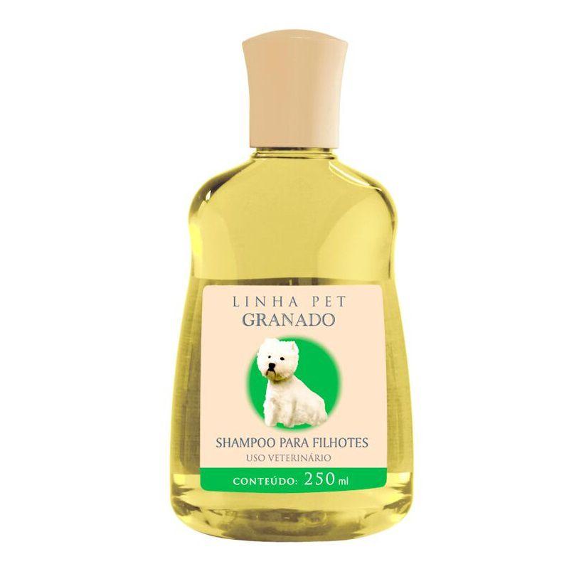 Shampoo Granado para Cães e Gatos Filhotes 250ml