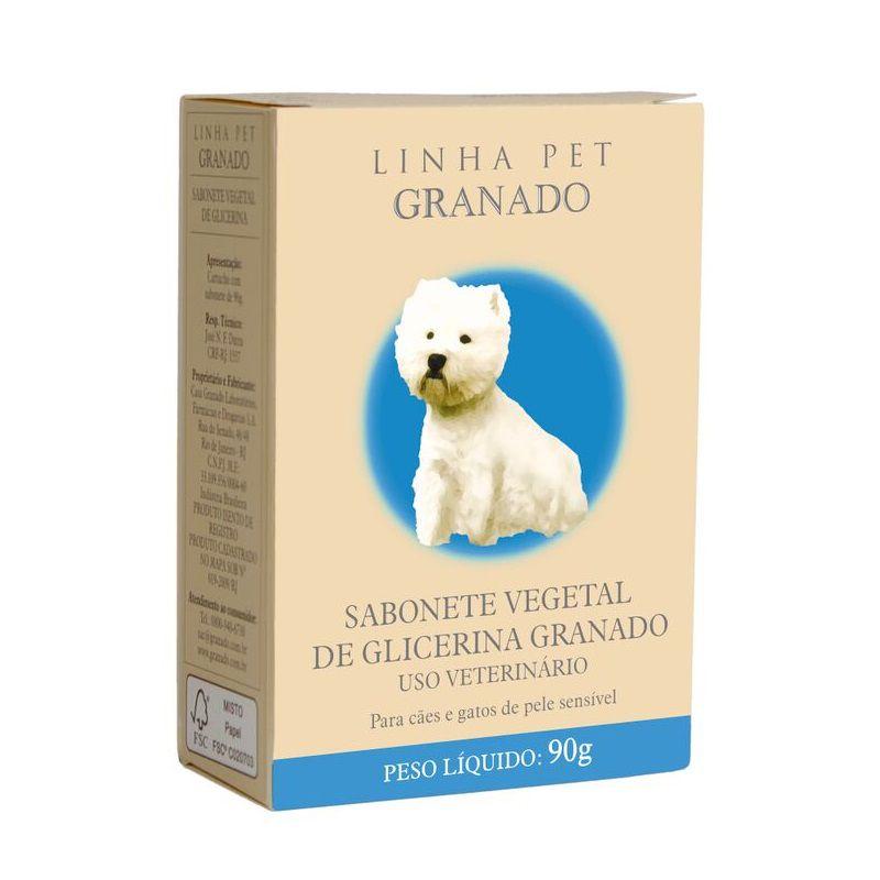 Sabonete Granado Glicerina para Cães e Gatos 100g