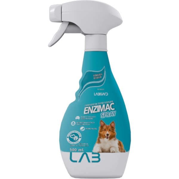Eliminador de Odor Spray Enzimac para Cães e Gatos Spray 500ml