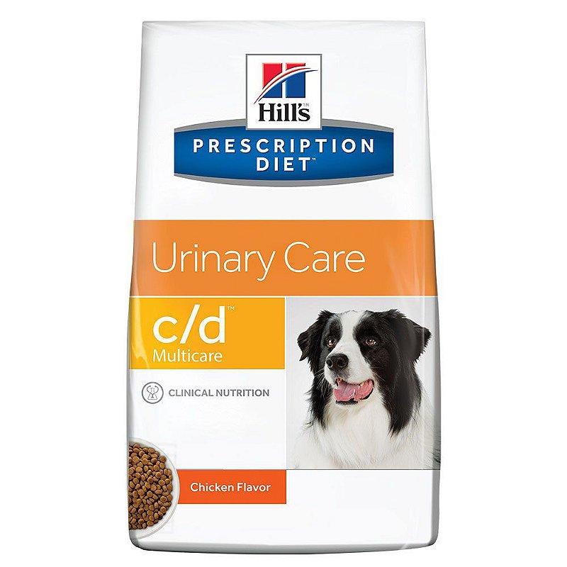 Ração Hill's Prescription Diet C/D Multicare Cuidado Urinário Para Cães Adultos Com Doenças Urinárias
