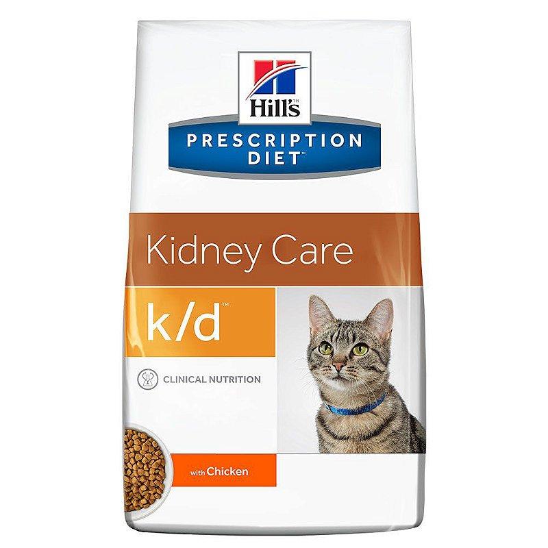 Ração Hills Prescription Diet K/D Cuidado Renal Para Gatos Adultos Com Doença Renal