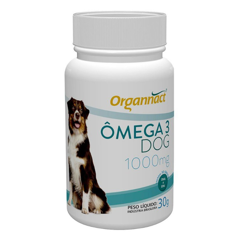 Omega Dog 1000mg Organnact