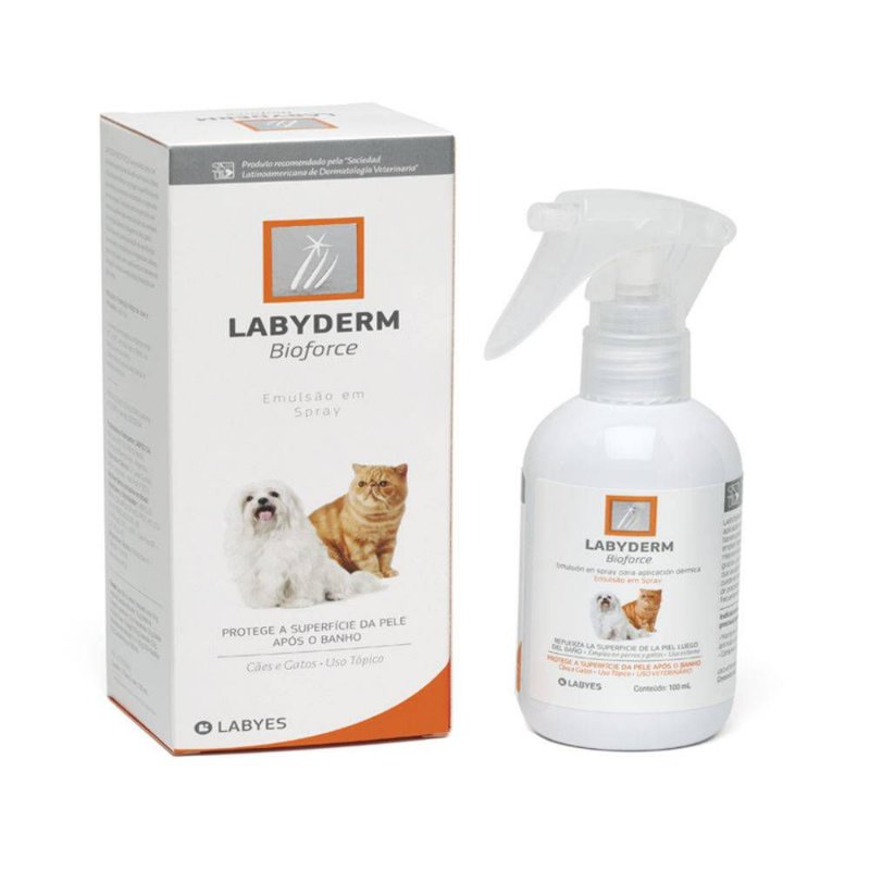 Spray Labyes Bioforce para Cães e Gatos 100ml