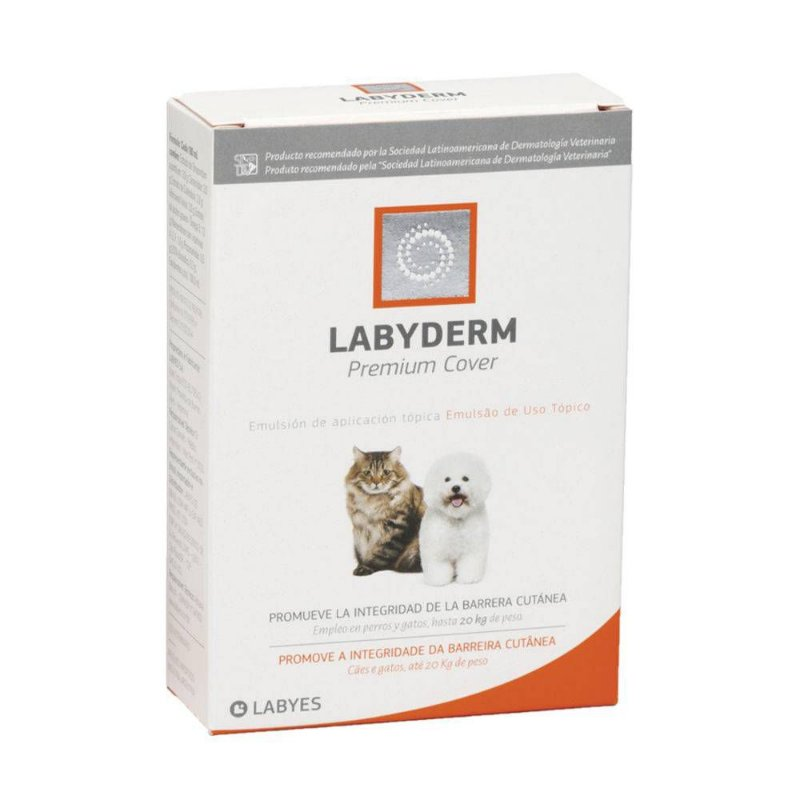 Premium Cover Ampola Labyes para Cães e Gatos - 2ml