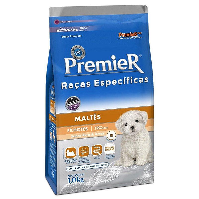 Ração Premier Raças Específicas Maltês para Cães Filhotes