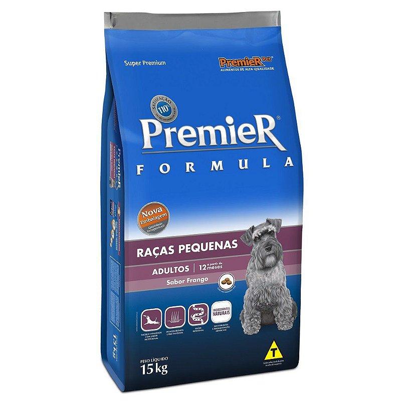 Ração Premier Fórmula para Cães Adultos de Raças Pequenas Sabor Frango