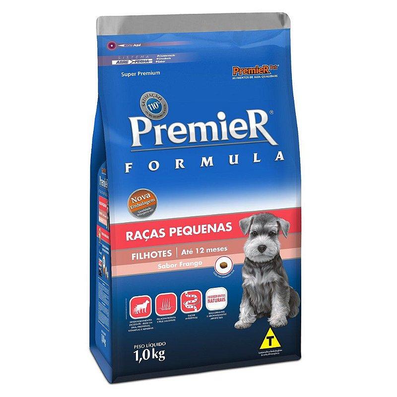 Ração Premier Fórmula para Cães Filhotes de Raças Pequenas Sabor Frango