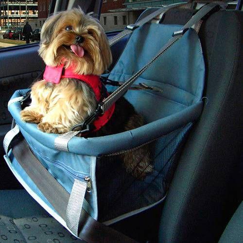 Assento Tubline Transpet Big para Cães e Gatos Cinza
