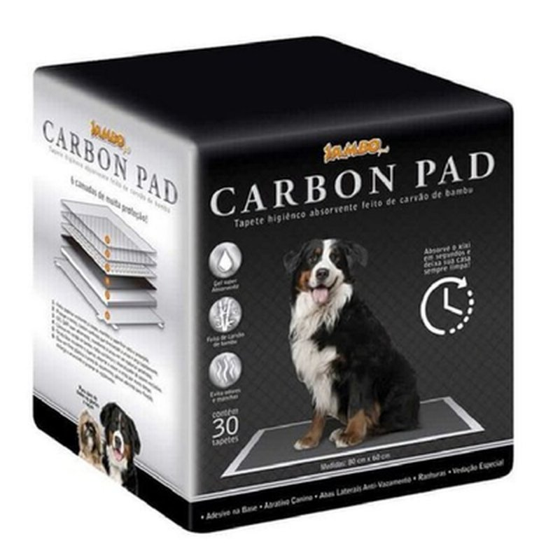 Tapete Higiênico Jambo Carbon Pad