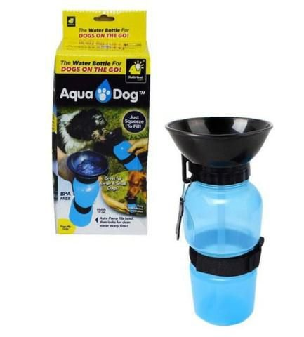 Bebedouro Portátil Aqua Dog - 600ml