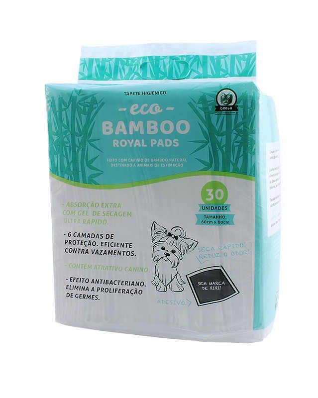 Tapete Higiênico - Eco Bamboo Royal Pads