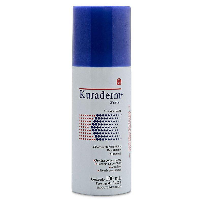 Kuraderm Spray Bactericida Konig para Cachorro 100ml
