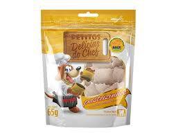 Snack Petitos Para Cães Chef Sabor Pastelzinho
