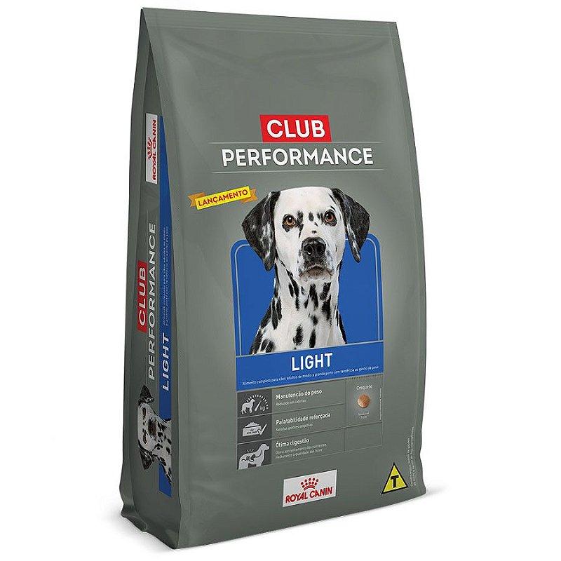 Ração Royal Canin Club Performance Light Cães Obesos - 15kgs