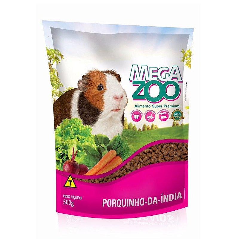 Ração Megazoo para Porquinho da Índia Adulto - 500g