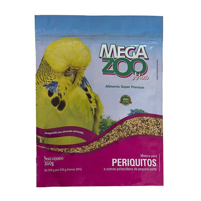 Ração Megazoo Mix para Periquitos - 350g