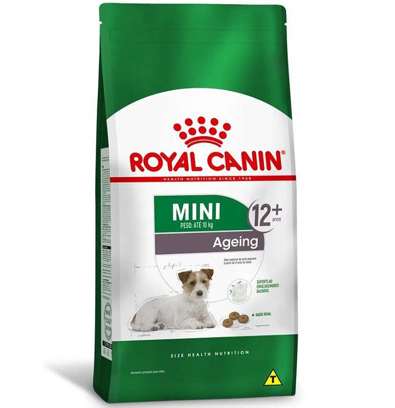 Ração Royal Canin Mini Ageing 12+ Cães Sênior