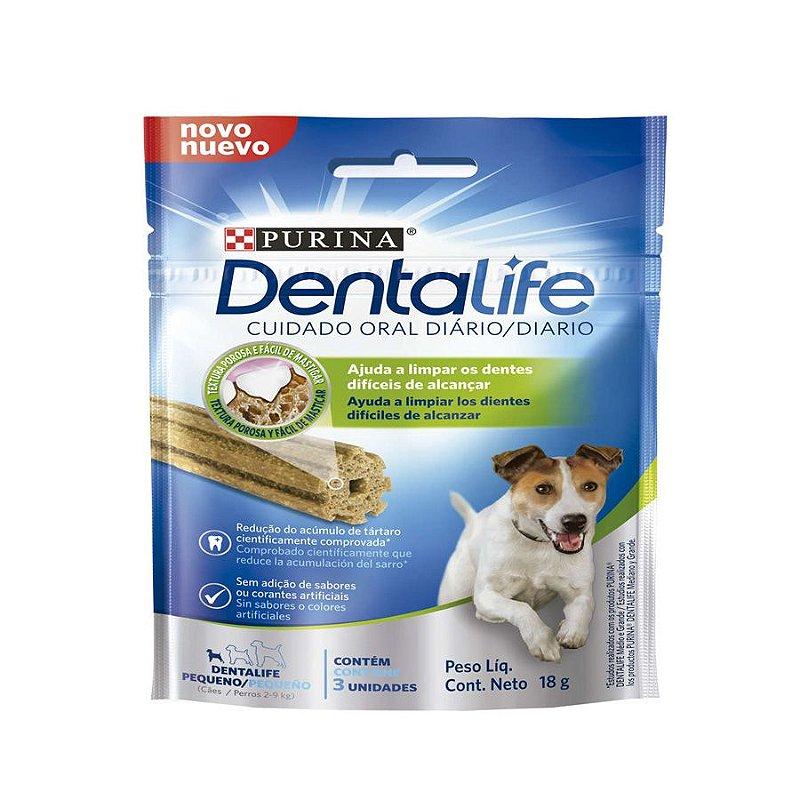Snack Purina Dentalife para Cães Raças Pequenas - 18g