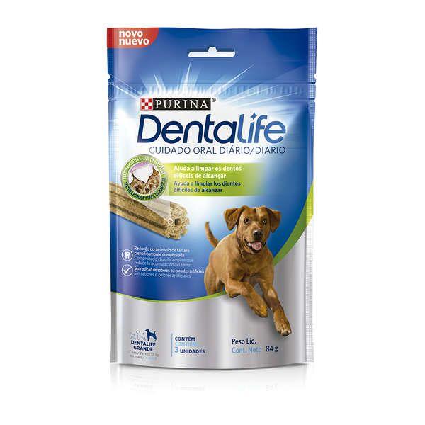 Snack Purina Dentalife para Cães Raças Grandes - 84g