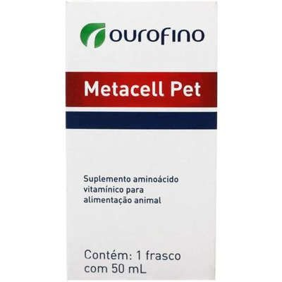 Suplemento Ouro Fino Metacell Pet - 50 mL