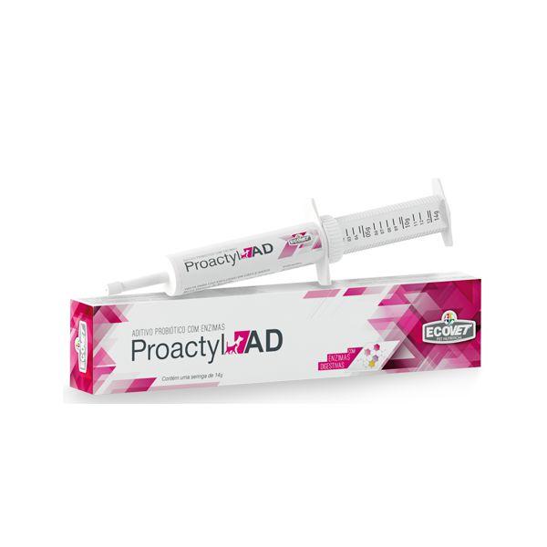 Proactyl AD - 14g Probiótico Pasta Para Cães e Gatos