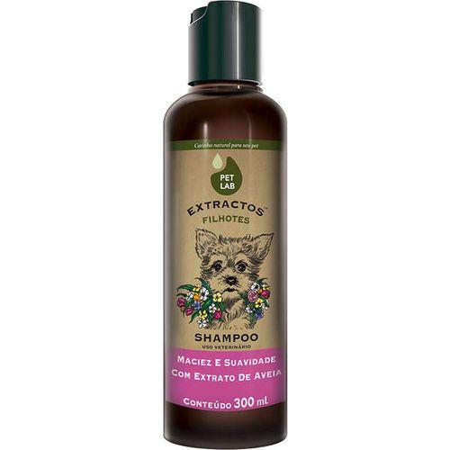 Shampoo Petlab Extractos Aveia Para Cães Filhotes - 300ml