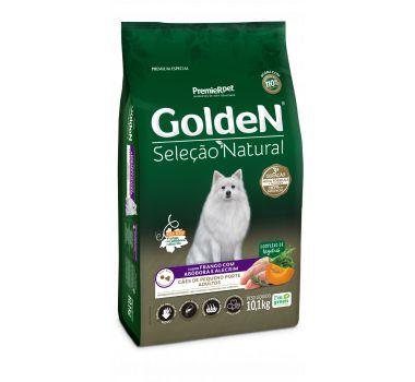 Ração Seca Golden Seleção Natural Frango com Abóbora e Alecrim para Cães Adultos de Pequeno Porte - 3Kg