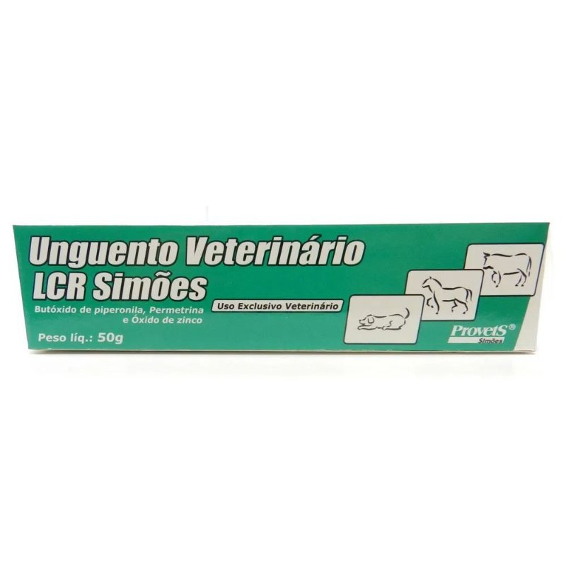 Unguento Veterinário LCR Simões 50g