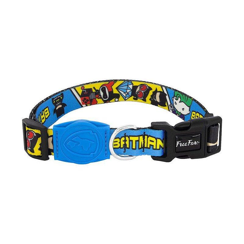Coleira para cachorros Batman Chibi - Free Faro