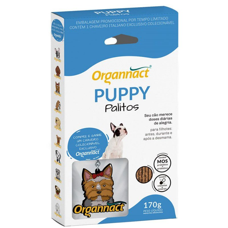 Palitos Organnact Puppy 160g