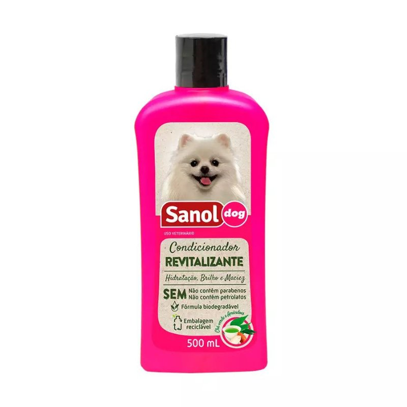 Condicionador Sanol Dog Revitalizante - 500ml