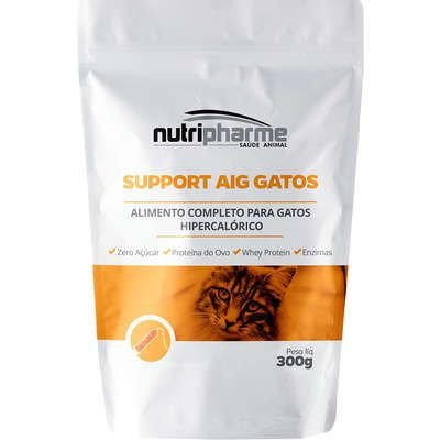 Suplemento Vitamínico Nutripharme Support Aig para Gatos