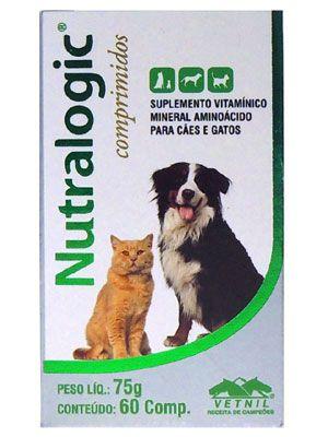 Suplemento Vetnil Nutralogic 75g - 60 Comprimidos