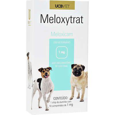 Anti-Inflamatório UCBVET Meloxicam Meloxytrat para Cães - 1mg