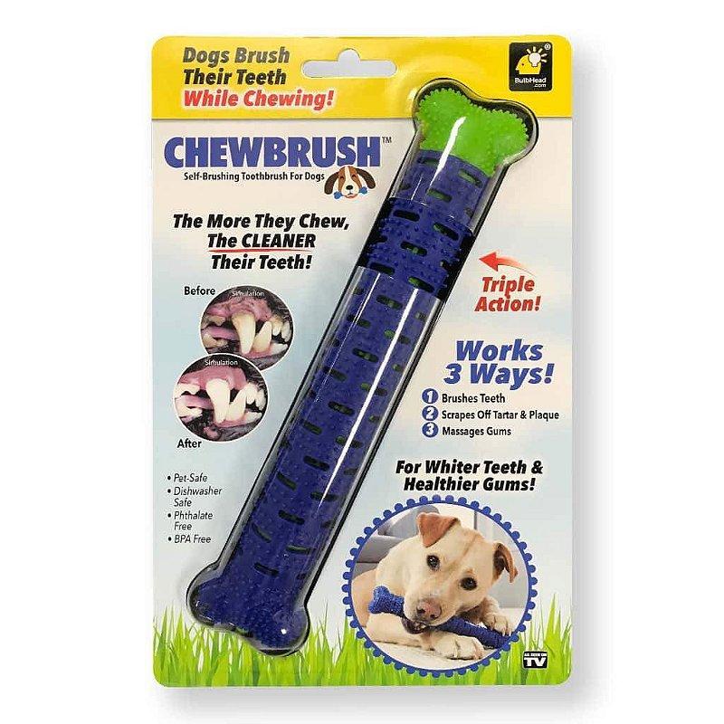 Escova de dentes interativa Chewbrush Bulbhead