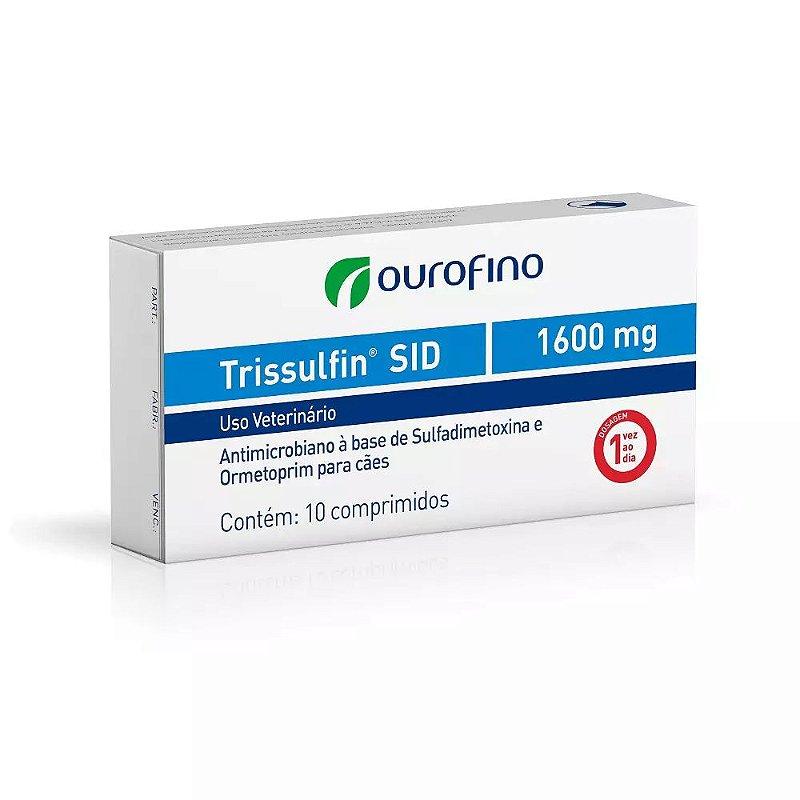 Trissulfin SID 1600mg Antibiótico Ourofino
