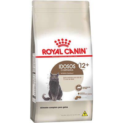 Ração Royal Canin Feline Sterilised para Gatos Adultos Castrados Acima de 12 Anos