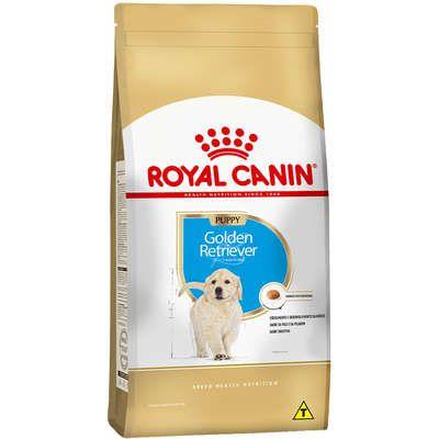Ração Seca Royal Canin Puppy Golden Retriever para Cães Filhotes - 12Kgs