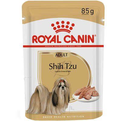 Ração Royal Canin Sachê Breed Health Nutrition para Cães Adultos Shih Tzu