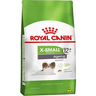 Ração Royal Canin X-Small Ageing 12+ para Cães Adultos e Idosos acima de 12 anos - 1Kg