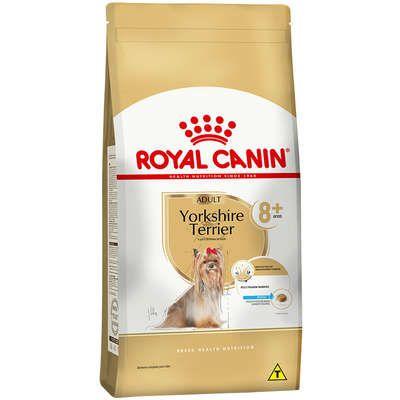 Ração Seca Royal Canin para Cães Adultos Yorkshire Terrier 8+ - 2,5kgs