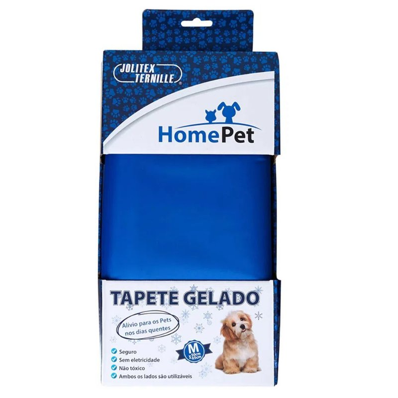 Tapete Gelado para Cães HomePet M (50cmX65cm)