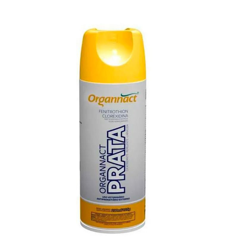 Antibacteriano Organnact Prata em Spray 200ml / 105g